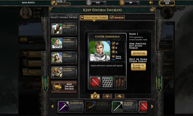 Game of thrones ascent sworn sword - pack gamer